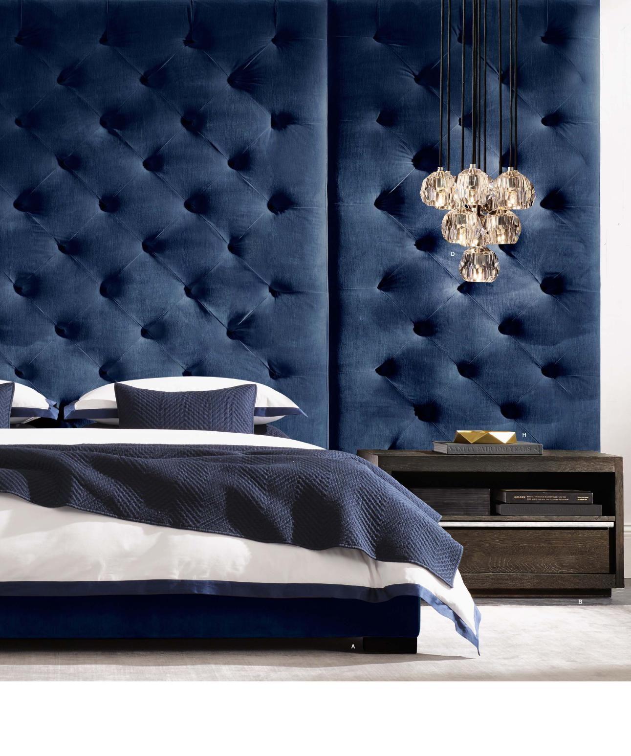 Modern Luxury Bedrooms Rh Source Books Savile Room Pinterest Furniture Modern
