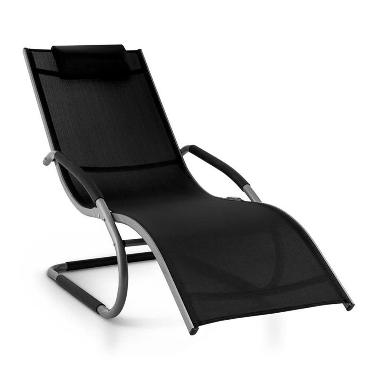 Sunwave Chaise Longue Transat Relax Aluminium Noir en 2019 ...