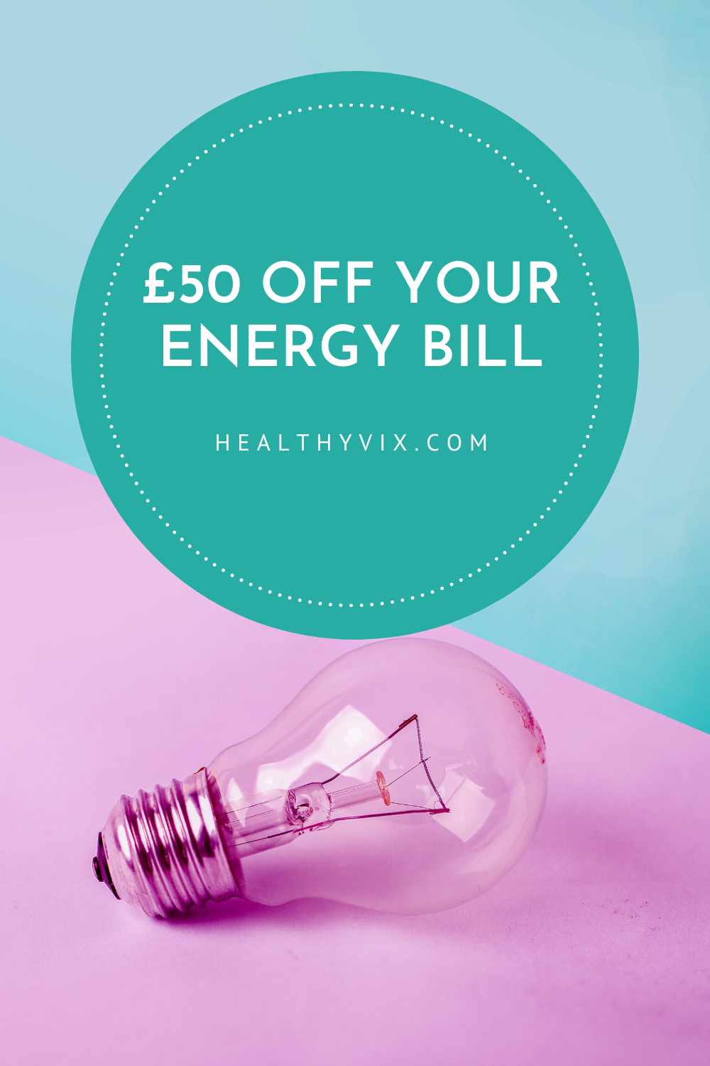 Save money and the environment. Get £50 discount by