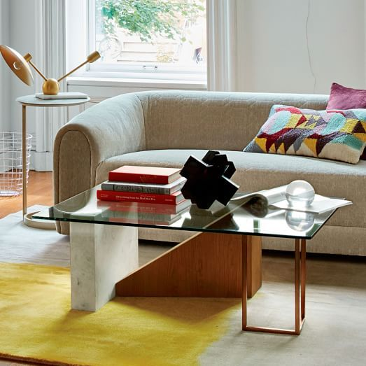 Bowie Coffee Table West Elm Furniture Decor Mid