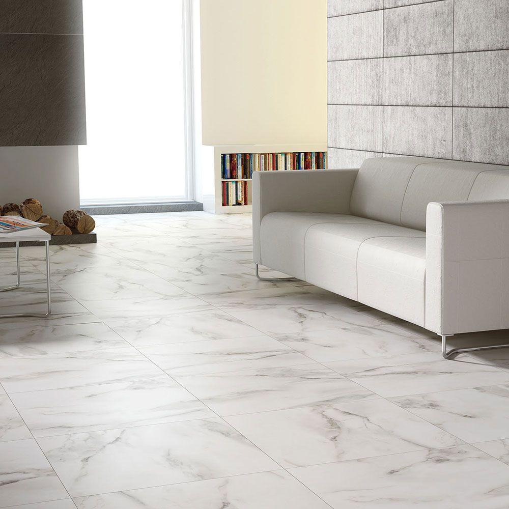 Carrara Satin Tiles Walls and Floors Pavimenti