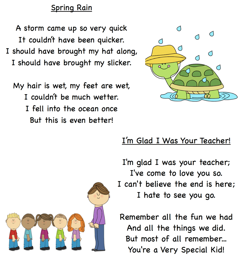 May Poems for Kids in 2020 Kindergarten poems, May poems