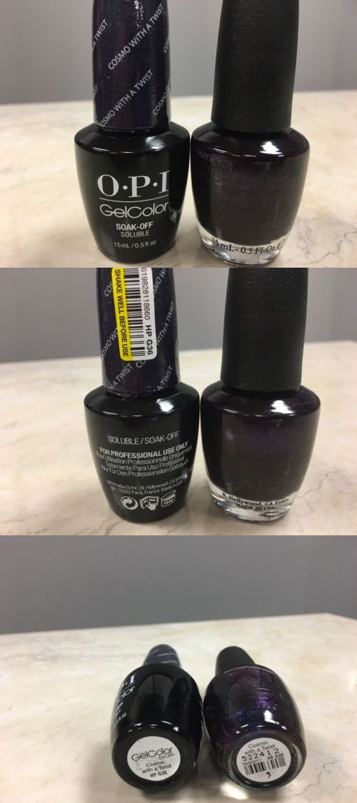 Nails: Opi Gel Color+ Matching Gel Polish Cosmo With A Twist 0.5 Fl ...