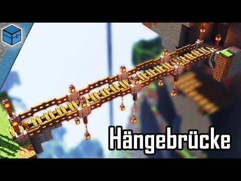 Minecraft Hängebrücke bauen 🧱 Hängebrücke bauen in