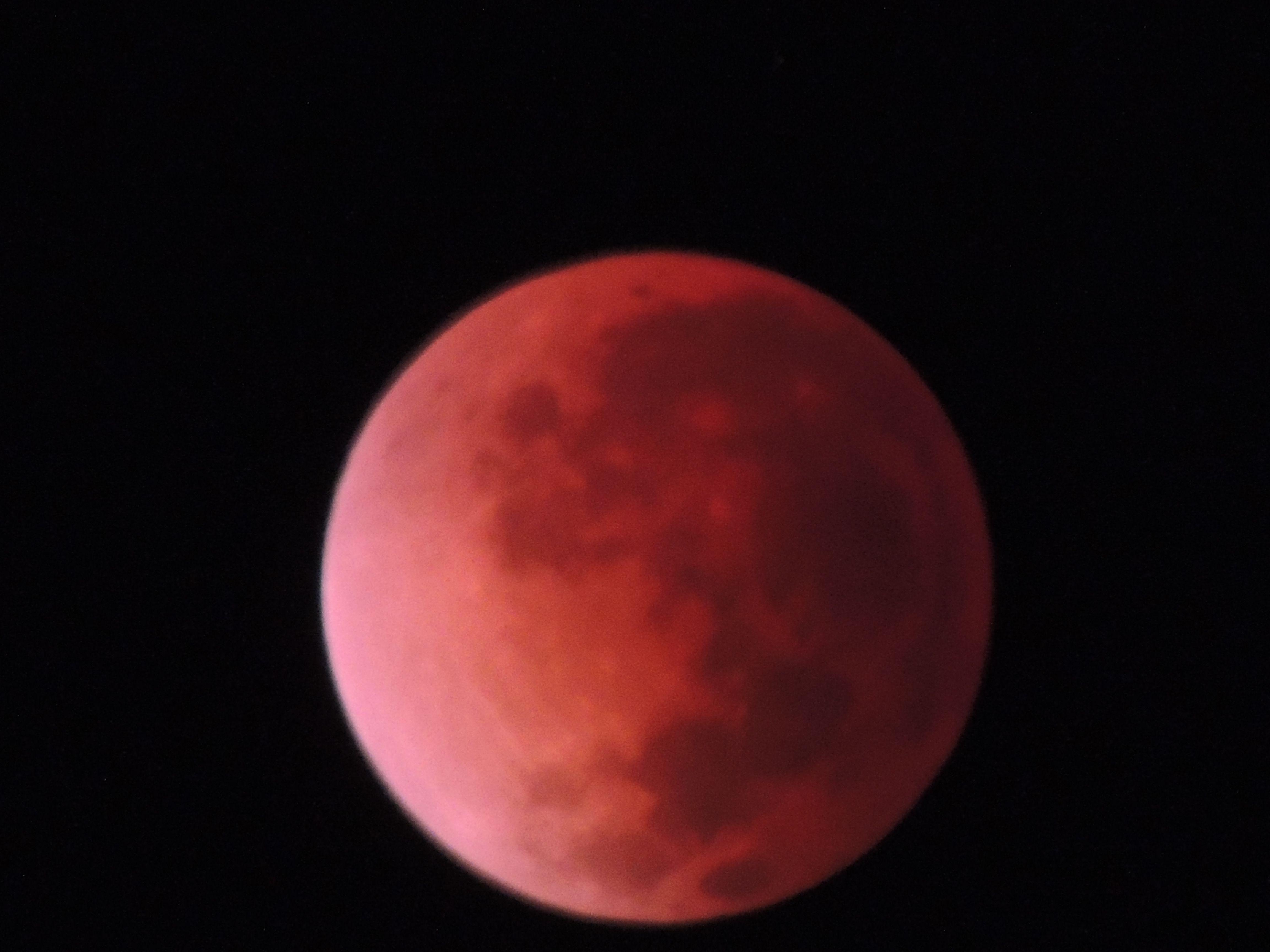 blood moon, abril de 2014