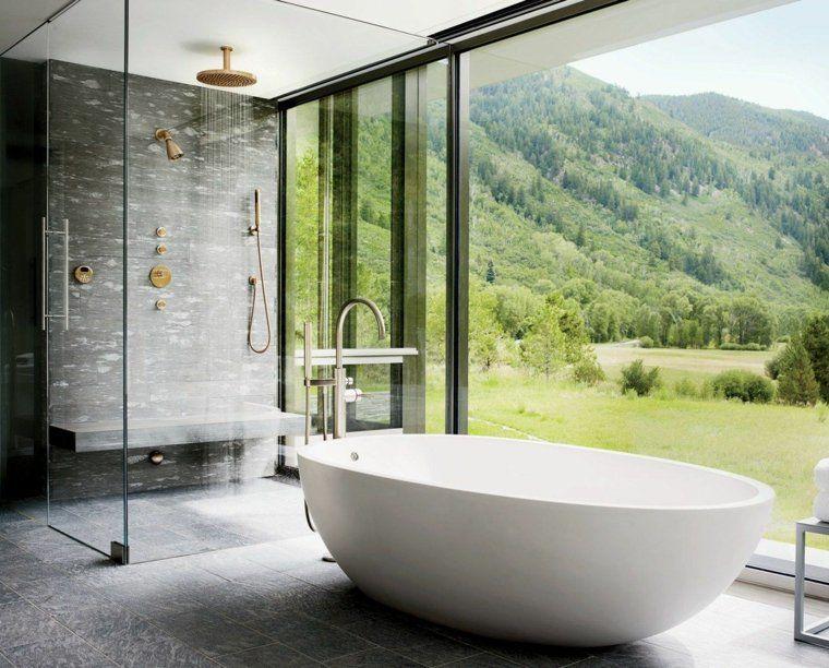 Idées salle de bain avec douche design | Salle de bain avec douche ...