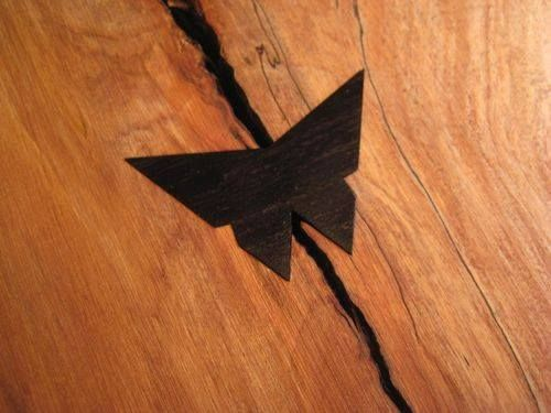 Butterfly Joint In 2019 Woodworking Joints Woodworking