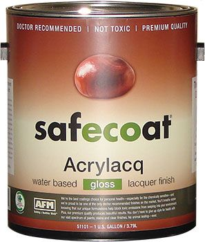 Afm Safecoat Acrylacq Non Toxic Durable Low Odor