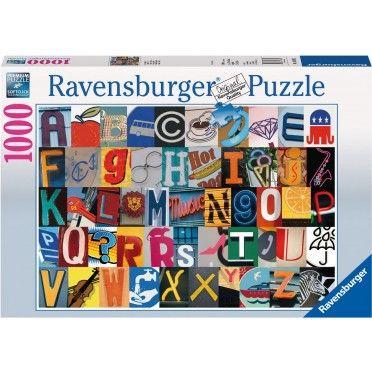 Buntes Alphabet 1000 Teile Ravensburger Puzzle Online Kaufen