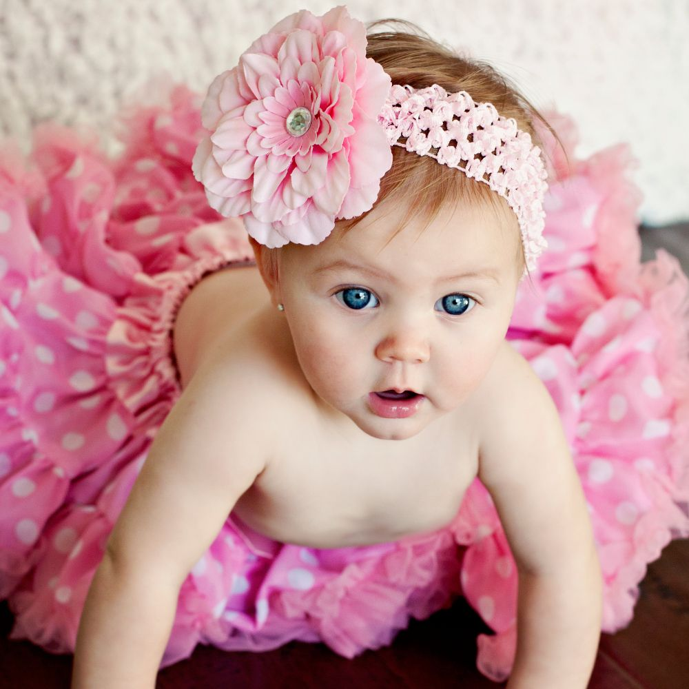 beautiful-cute-baby-girl-in-pink-dress | itty bitty baby girl