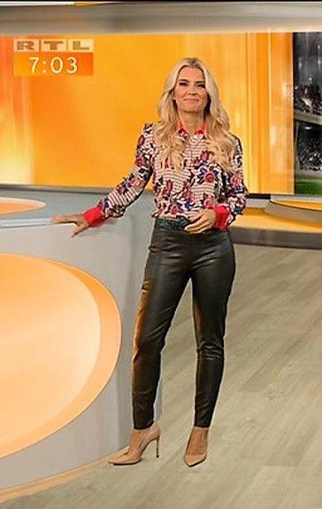 Jennifer Knäble RTL TV | Lederhosen outfit, Lederhose