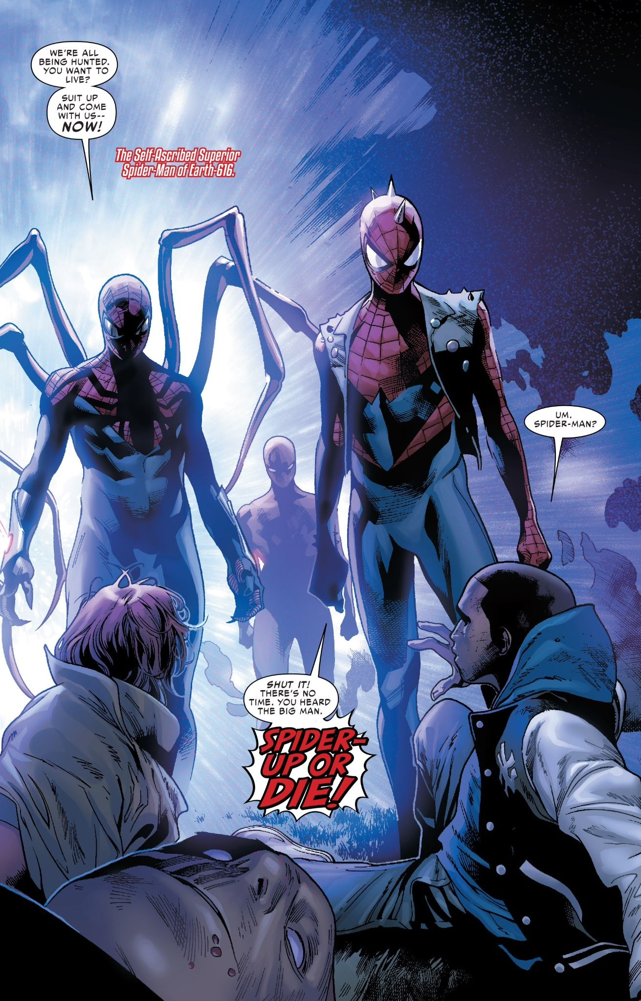Spider Ock's tribe assembles in Amazing Spider-Man #10 (Spider-Verse part 2)