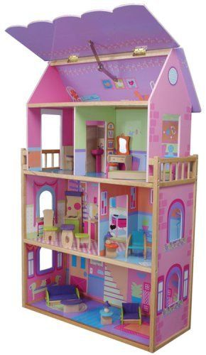 Doll House Kidkraft Olivia Dollhouse Click On The Image For Additional Details Barbie Doll House My Doll House Kids Doll House