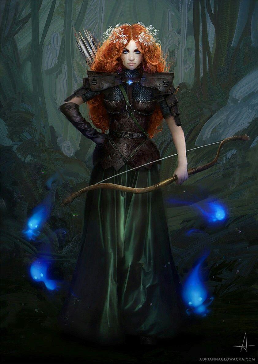 Merida by Adrianna Glowacka