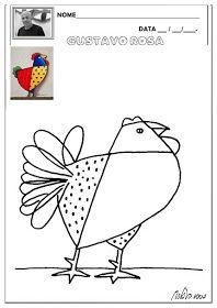 Gustavo Rosa Arte Para Criancas Atividades De Arte