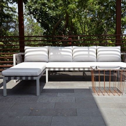 the jibe outdoor left sectional sofa u2013 modern outdoor sectionals and sofas designed by blu dot from the jibe collection of modern outdoor furniture