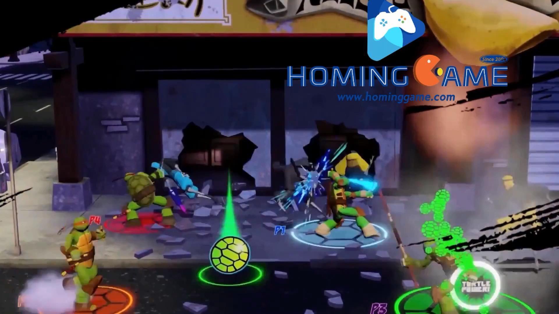 2019 New Amazing Teenage Mutant Ninja Turtles Arcade Game Machine From Hominggame Sales Homingga Arcade Game Machines Arcade Games Teenage Mutant Ninja Turtles