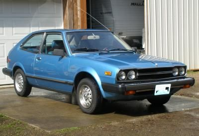 1981 Honda Accord - My 2nd car wifes car. great car, but rusted out in a few years