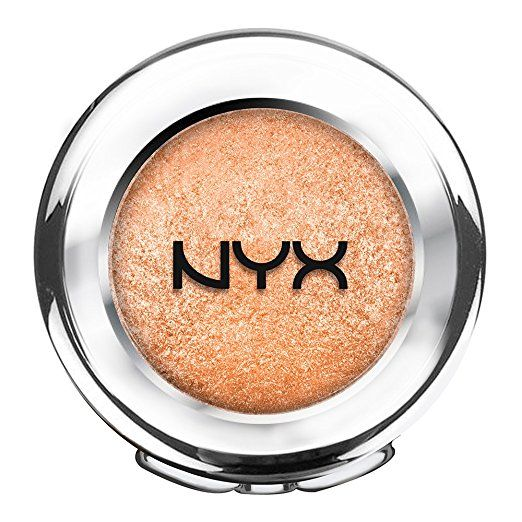 nyx prismatic eye shadow  liquid gold  nyx cosmetics