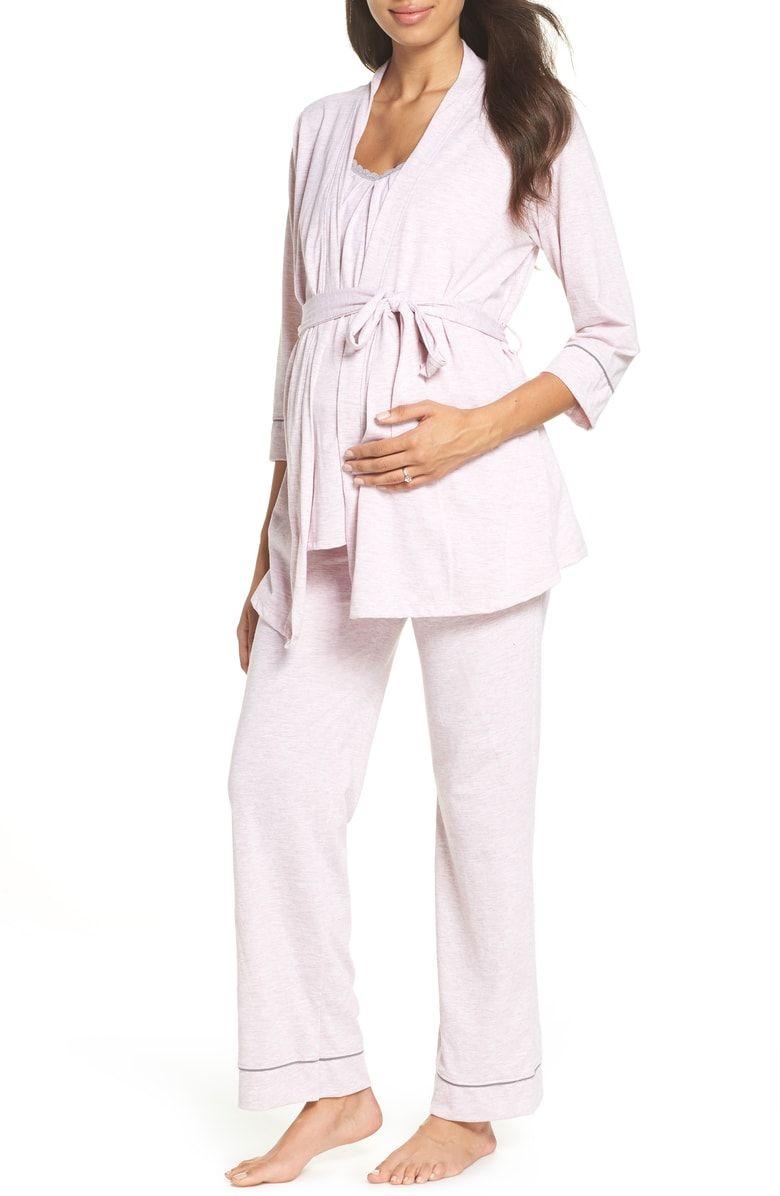 6fe57bfc85842 Free shipping and returns on Belabumbum Maternity/Nursing Robe & Pajamas at  Nordstrom.com