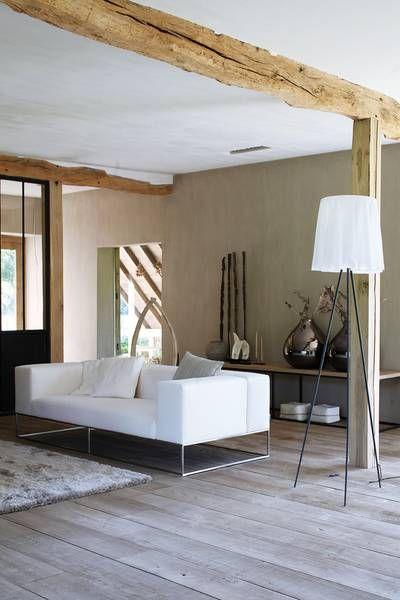 Houten balken ➕LivINg➕ Pinterest Restaurieren, Fachwerk - fachwerk wohnzimmer modern