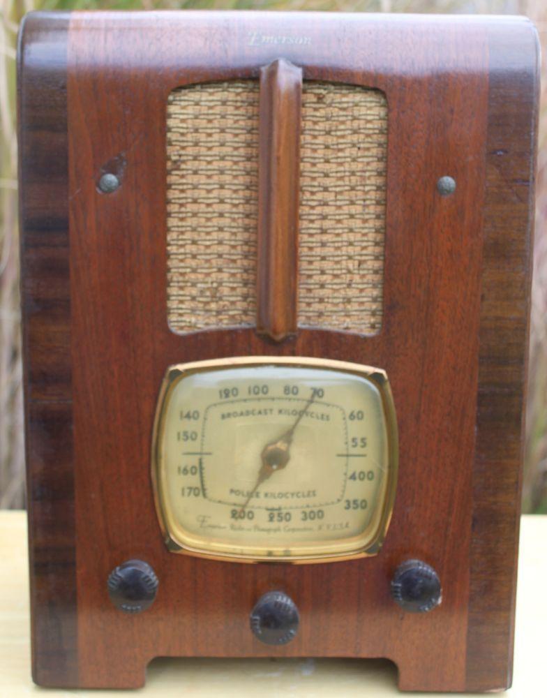 Commit emerson vintage radio theme interesting
