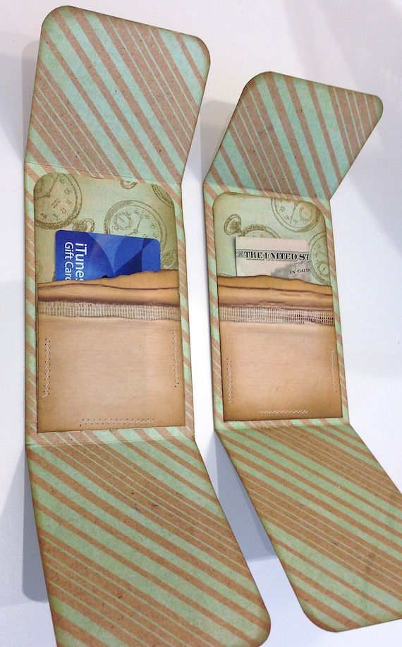 Gift Card Holder Tutorial 1 Of 2 More Ideas On This Site