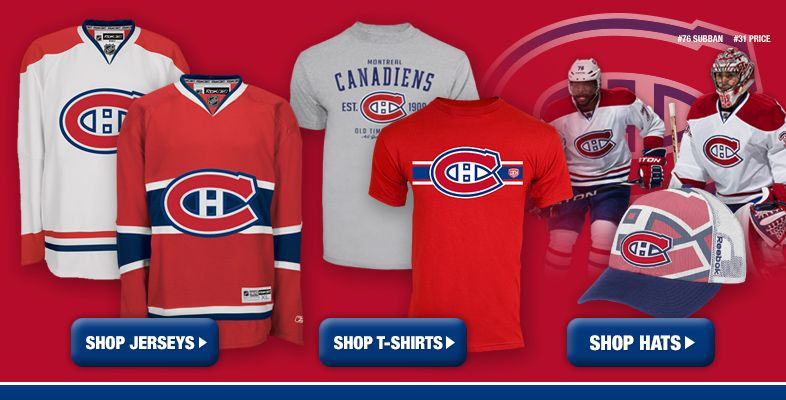 Montreal Canadiens - Shop By Team - Shop.Canada.NHL.com Nhl Apparel eaf585ca1