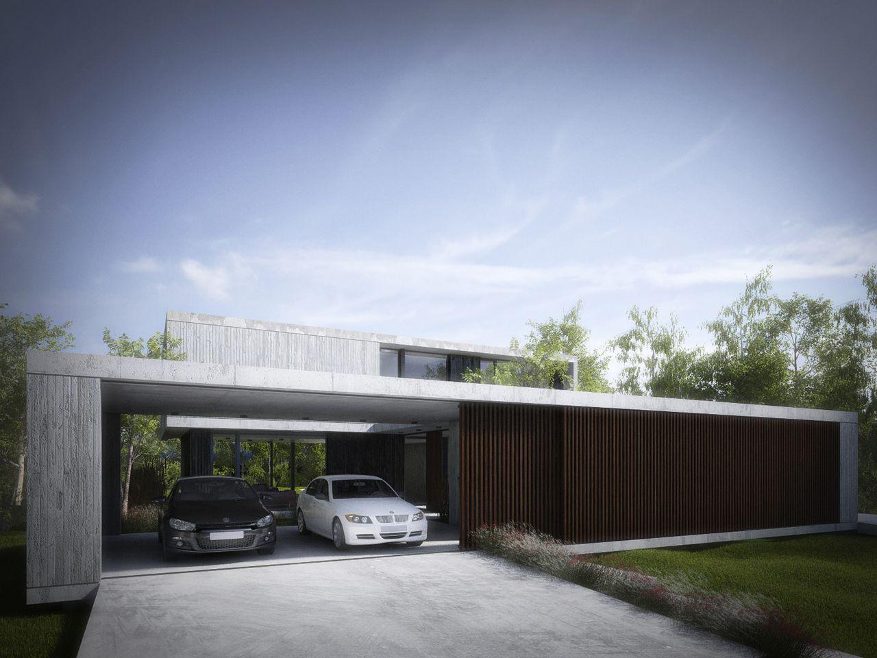 Proyectos ezequiel amado cattaneo casa escobar 1 for Moderne architektur villa