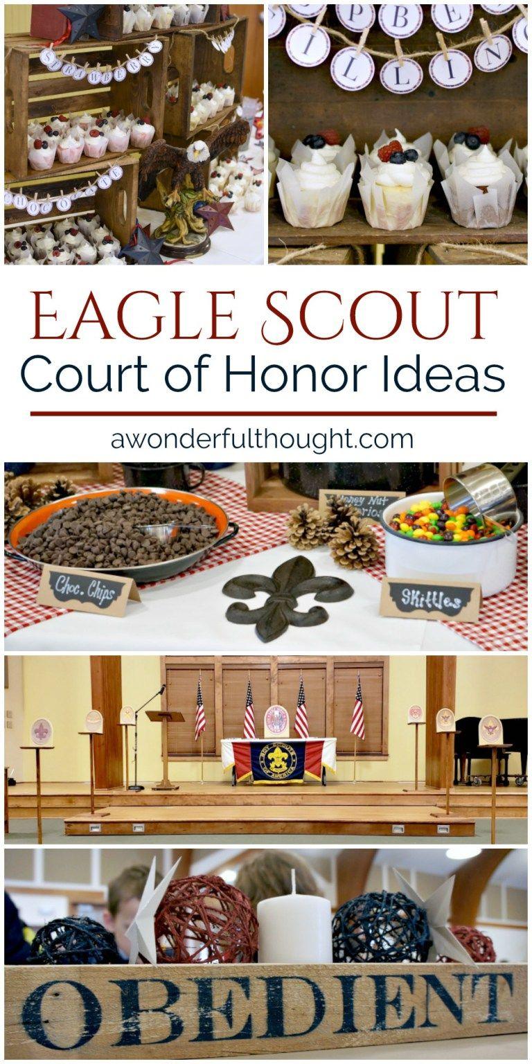 Eagle Scout Court of Honor Ideas | stuff | Eagle scout ...