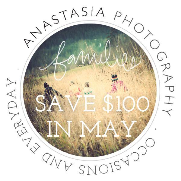Anthem Design Lab + Anastasia Photography. Graphic, Facebook, Photography Ad.