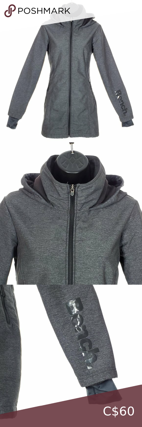 Bench Fall Jacket Fleece Lined Coat Hooded Long Fall Jackets Jackets Bench Jackets [ 1740 x 580 Pixel ]