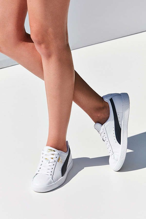 purchase cheap f960c 37cfc Puma Clyde Core Foil Sneaker | Urban Outfitters | Need ...