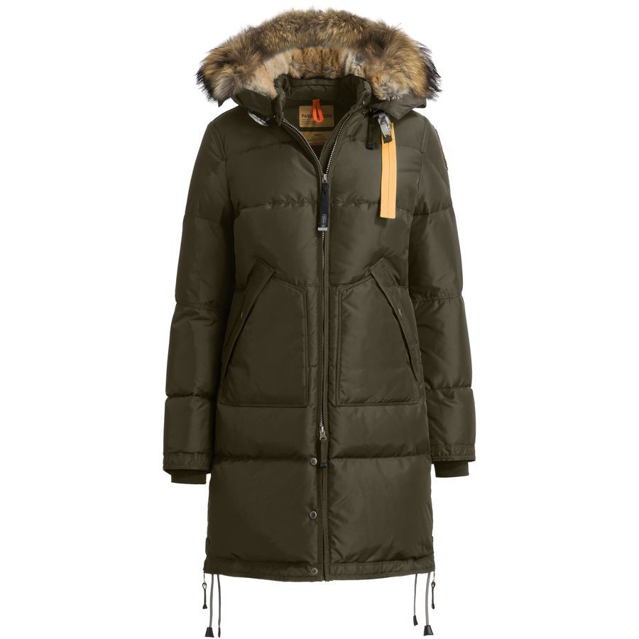 parajumpers womens long bear down coat