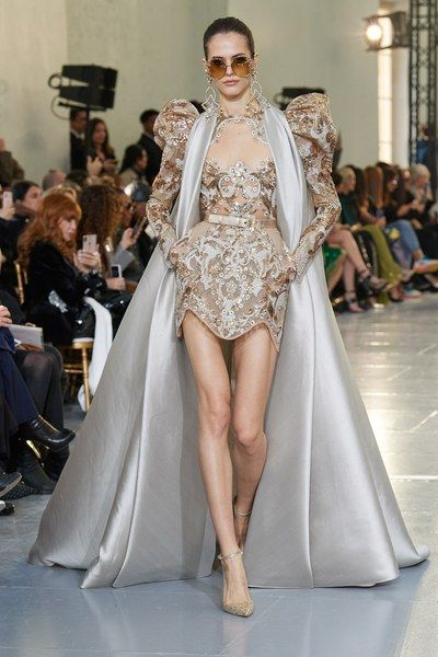 Elie Saab Spring 2020 Couture Collection Vogue Spring Couture Couture Fashion Elie Saab Couture