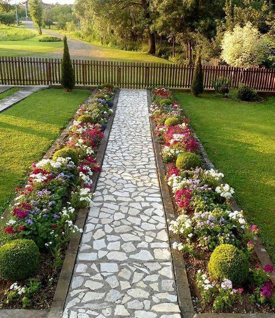 Photo of 50 Great Backyard Landscaping Ideas #Landscaping #Landscaping #Great