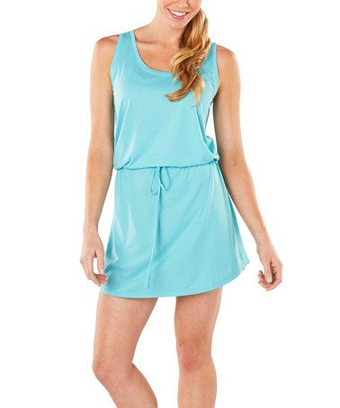 Turquoise Amelia Cooling Tank Nightgown Zulily Zulilyfinds With