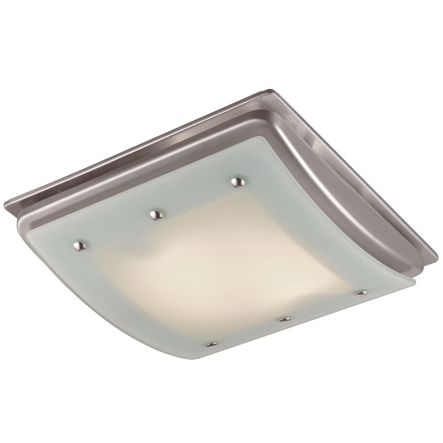 Utilitech 15 sone 100 cfm brushed nickel bathroom fan incandescent utilitech 15 sone 100 cfm brushed nickel bathroom fan incandescent with light aloadofball Choice Image