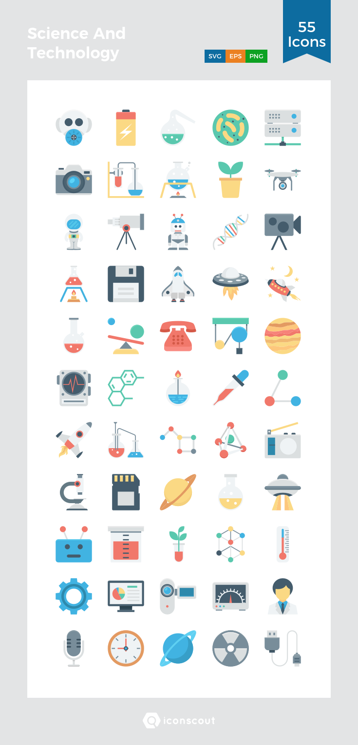 Download Science And Technology Icon Pack Available In Svg Png Eps Ai Icon Fonts Technology Icon Science Icons Science And Technology