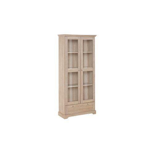 Cupboard Storage Cabinet Tall  Display Bathroom Kitchen Dishes Organizer Curio
