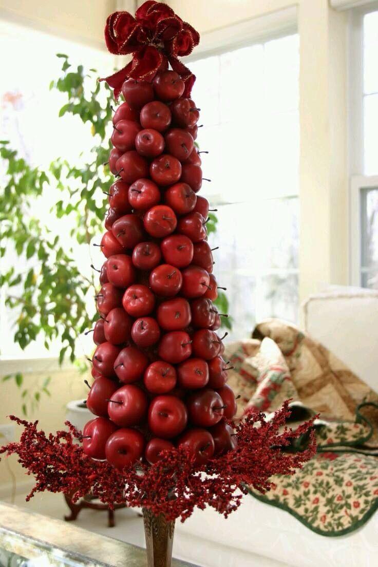 Christmas Topiary Ideas Part - 50: Fruit Topiary