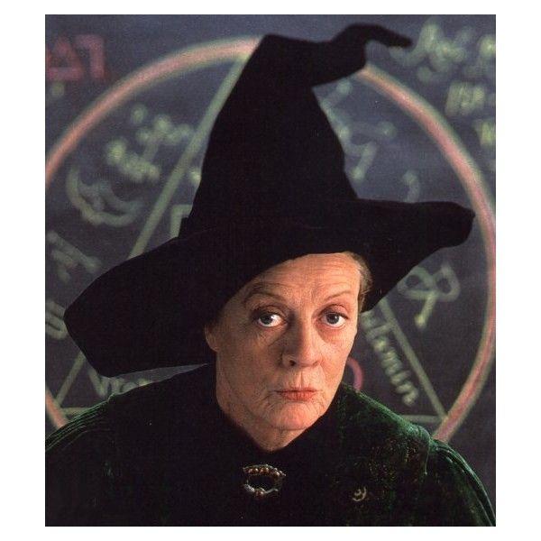 Minerva Mcgonagall Liked On Polyvore Featuring Harry Potter Hogwarts And Minerva Mcgonagall