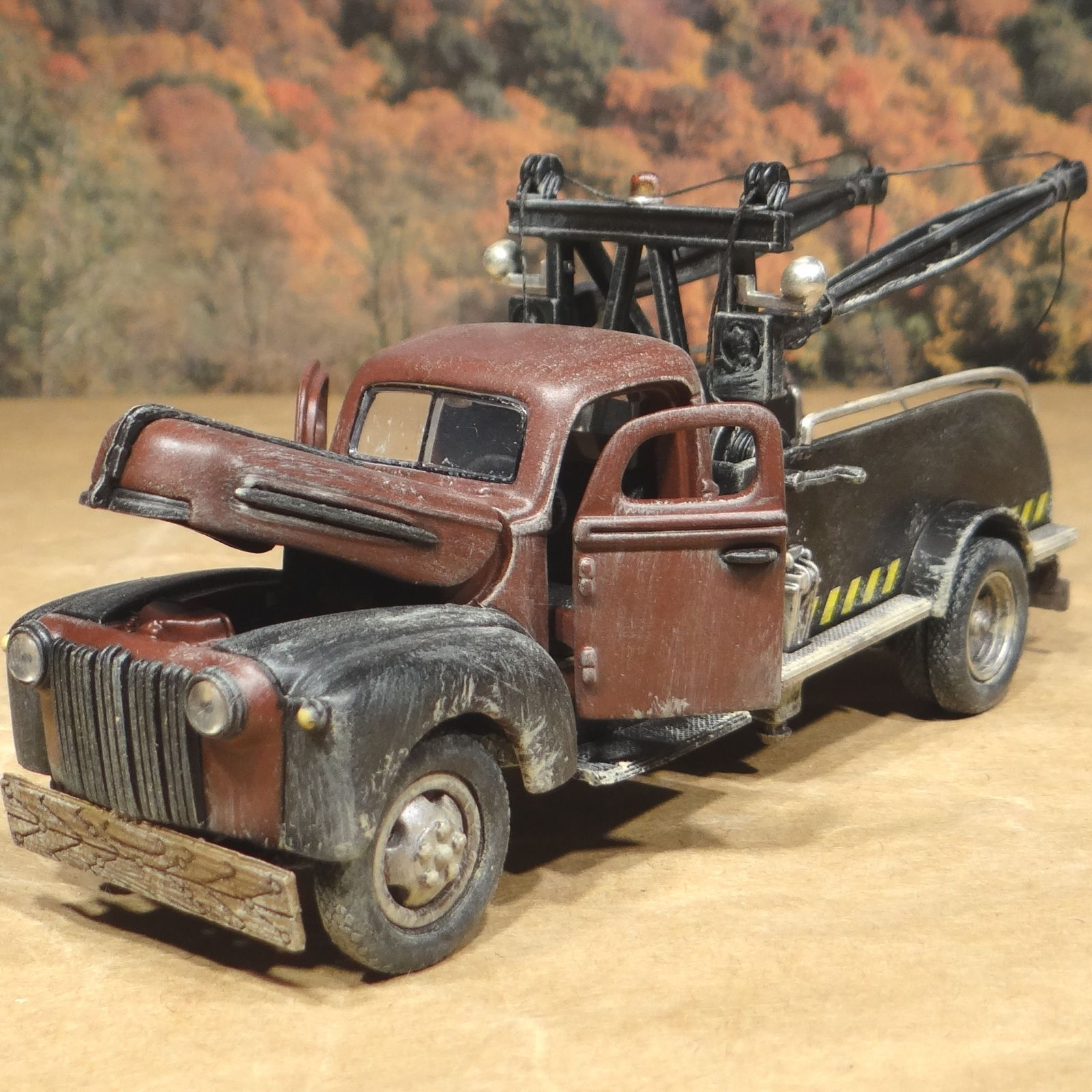 1942 Ford Tow Truck Brown Sale Now for a very limited time at