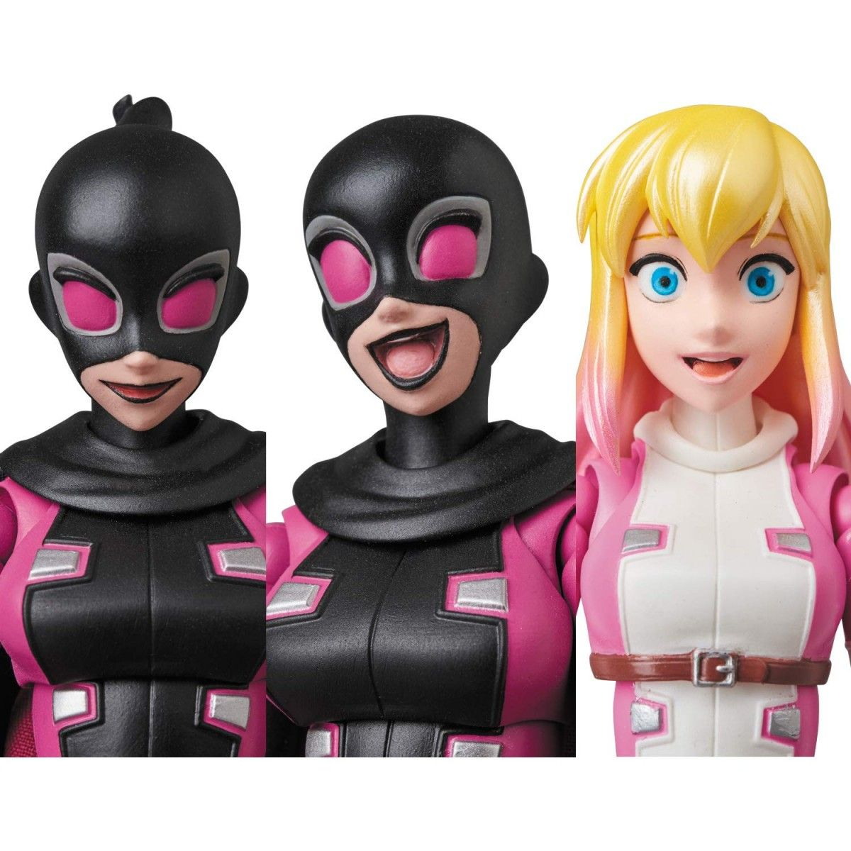 Medicom Toy MAFEX Gwen Pool Action Figure Gwenpool Comics Marvel