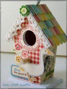Ideas para crear casas de pájaros | Aprender manualidades es facilisimo.com