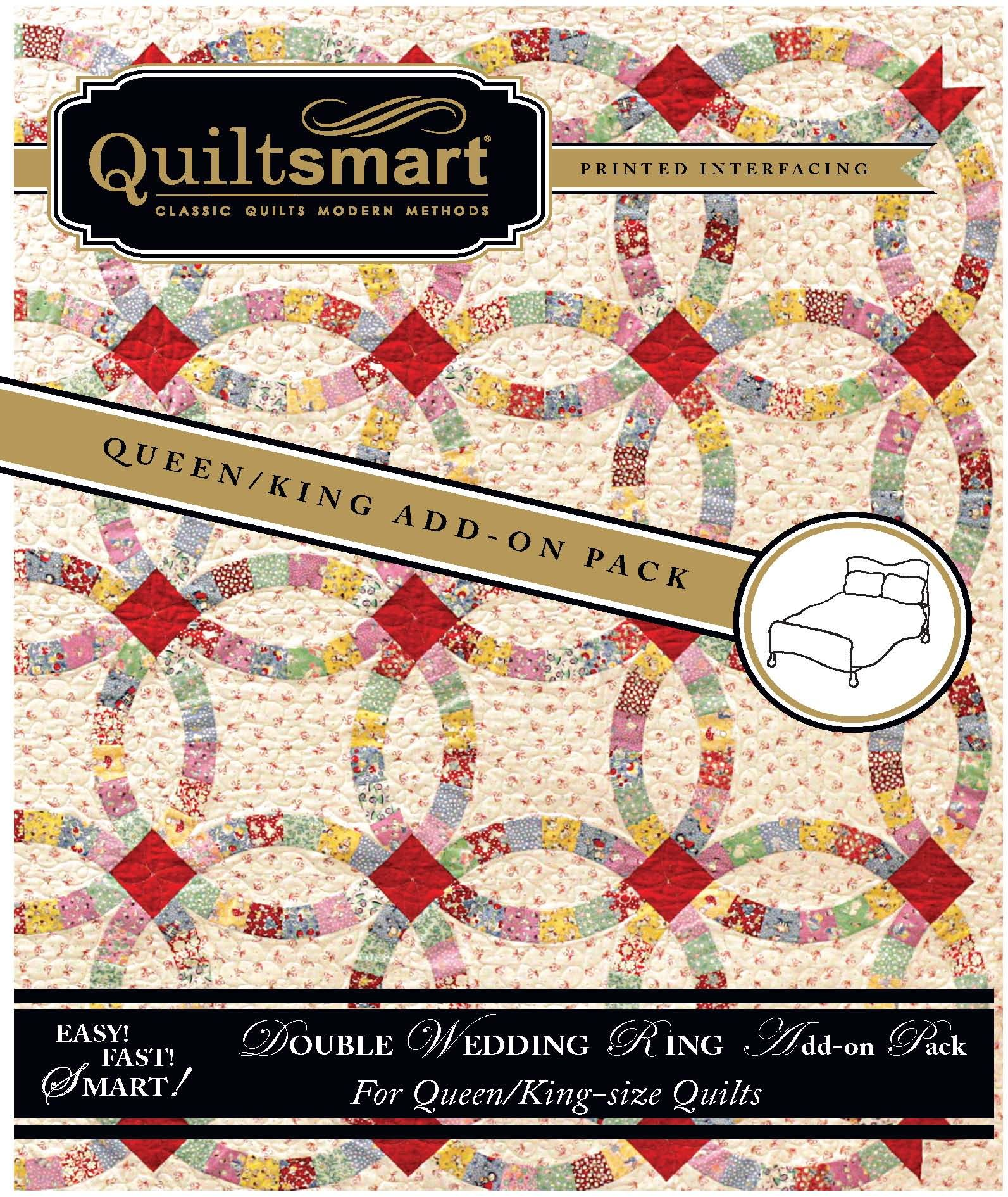Double Wedding Ring Add On Pack Paper Piecing Quilts Quilted Bag Patterns Wedding Quilt