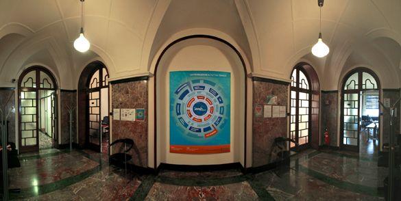 La sede centrale di SinerVis | Sedie, Milano