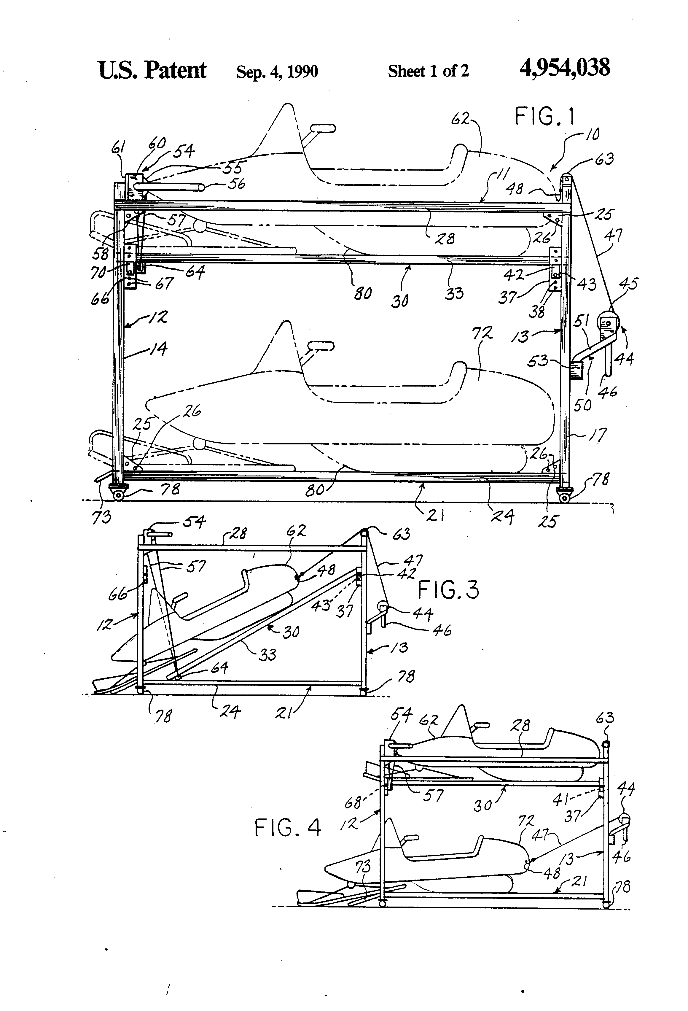 Snowmobile Storage Rack Plans