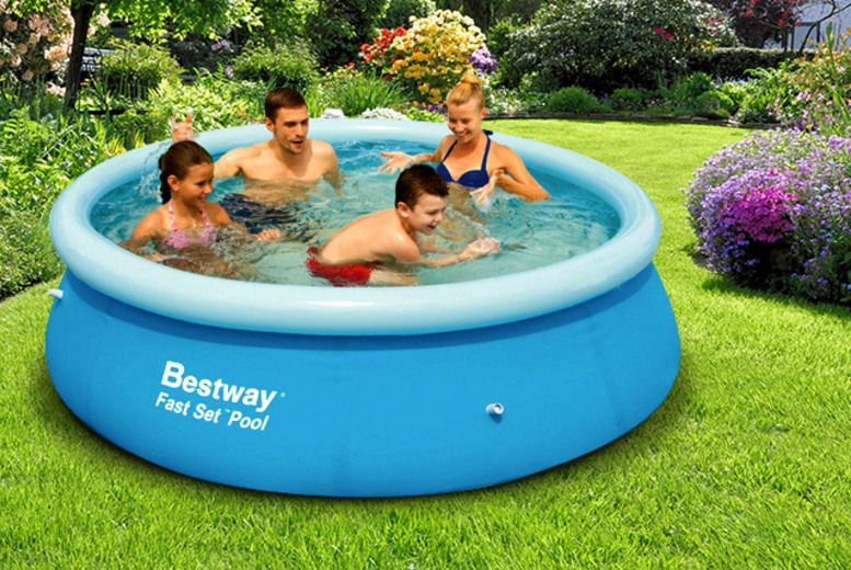 Bargain Quick Set Up Pool Was 39 99 Now 19 99 At Argos Gratisfaction Uk Garden Pool Pool Family Garden