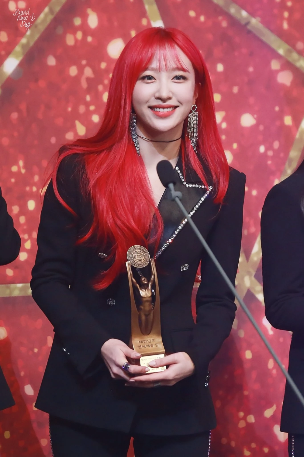 These Are The 10 Female Idols That Netizens Adore When They Have Red Hair Koreaboo Red Hair Kpop Korean Beauty Girls Red Hair